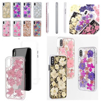 Bling True Flowers Clear Case For iPhone XS Max XR X 8 7 6S ...