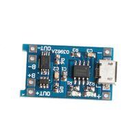 Módulo de placa de carga de batería de litio OOTDTY Micro 5V 1A USB 18650 + Protección