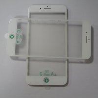 50 adet orijinal soğuk basın lcd ön cam + çerçeve çerçeve + oca filmi meclisi iphone 7 7 plus yenilemek