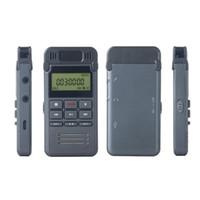 Portable Metal HD Noise Reduction Registratore vocale digitale da 8 GB mini Dittafono Registrazione telefonica con lettore MP3 che supporta la ripetizione A-B