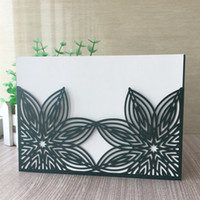 25pcs Personalized Engraved Wedding Invitation Card Greeting...