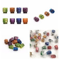 810 Drip Tip Resin Snakeskin Colorful Wide Bore Drip Tips Mo...
