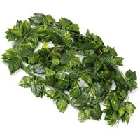 7 photos wholesale artificial greenery online 12 artificial greenery lvy chain vines leaves garland hanging for wedding - Christmas Greenery Wholesale