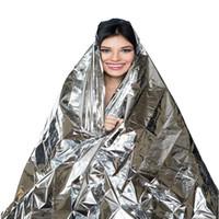 210 * 140 centimetri di salvataggio di emergenza di emergenza di salvataggio coperta di lamina termica spazio pronto soccorso nastro tenda di salvataggio esterna