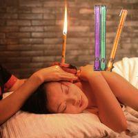 100 pcs 50 pares / saco Ear Wax Cleaner Fragrância Ear Candle Indian Therapy Natural Cera de Abelha Cuidados Com Os Ouvidos Cera Limpeza Aromatic