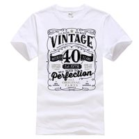 40 ° compleanno regalo T Shirt Made in 1978 Parti originali 40 anni Mens Ladies Top Harajuku Funny Men Tee Shirts