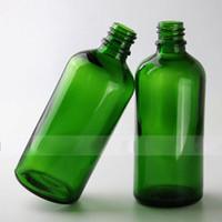 얇은 팁 큰 머리 뚜껑 2018 뜨거운 판매 E 액체 E 주스 녹색 유리 병 100ml의 큰 유리 병 100ml의