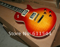 Free Shipping New Arrival Cherry Burst Custom Electric Guita...