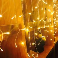 LED 커튼 라이트 6Mx1M 256 LED 크리스마스 요정 문자열 조명 가든 광장 휴일 웨딩 파티 크리스마스 장식 12 조각 / 많은