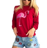 Flamingo Halloween Costumes For Adults Sweatshirt Pullover L...