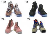 sports shoes 43f06 7f580 2018 neue LEBRON XV 15 FRUITY PEBBLES MULTI-COLOR   WHITE Männer  Basketballschuhe hochwertige James 15s LB Herren sportlich Air Sport  Turnschuhe
