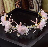 Guirnalda de la flor de seda rosa nupcial, joyería nupcial hecha a mano, accesorios del vestido de boda, accesorios del pelo del estudio del headwear del funcionamiento