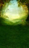 봄 숲 행복 한 부활절 사진 배경 인쇄 녹색 잔디 나무 잎 토끼 Bokeh 선샤인 아이 어린이 사진 배경