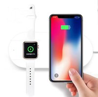 MiniAir Power Fast QI sem fio carregador Adaptador pad base de carregamento sem fio para a Apple iWatch2 3 para Iphone X 8 Plus para Samsung S9 Note8