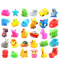 Baby Shower Play Toys ROTOCAST Animal Duck Giraffe Rabbit Pi...