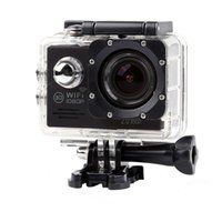 Lightdow 1080P HD Sport Kamera Actionkameras + Wifi App Fernbedienung 30m Wasserdicht 2,0 Zoll Bildschirm Fahrrad Skate Camcoder Sport DV