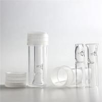 Punta di filtro in vetro con scatola di plastica Confezione da sigaretta a base di tabacco a base di erbe secca