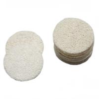 Luffa Facial Pads Loofah Disc entfernen Make-up-Exfoliating Gesicht Loofah Pad Small Size Luffa Loofa