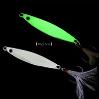 Day Night Fishing Lure Glow Jigs Long Shot Jigbait Shore Cas...