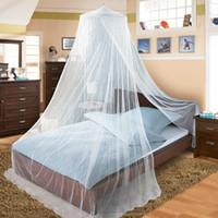 Простой белый Москитная сетка для взрослых Летней кровать Tent сетки для детей Складные Anti Mosquito Навес Сетки занавес Mosquito Net Dossel