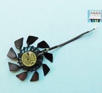 Orijinal EVERFLOW T129215SU ASUS Grafik Kartı Için 12 V 0.5A VGA Kart Soğutma Fanı GTX780 GTX780TI R9 280 290 R9 280X220X SOĞUTUCU