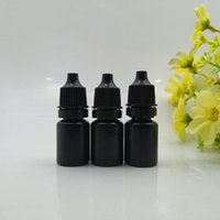 5 ml 10 ml Zwart Plastic Lege Dropping Flessen Nieuwe Stijl Essentie Parfums Vloeibare Lege Oogdruppelcontainers F1003