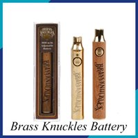 Brass Knuckles Battery Preheating Variable Voltage 650mAh 90...