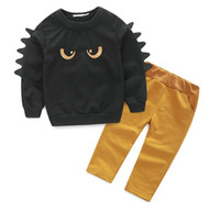 Kids Clothing Sets Long Sleeve T- Shirt + Pants, Autumn Sprin...