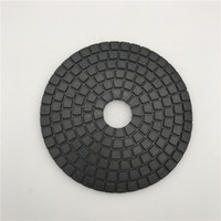 Black Buff 6 inch (150 mm) for Dark Granite Circle Polishing...