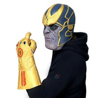 Thanos Infinity Gauntlet & Mask Avengers Infinity War Gloves...