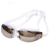 Perakende Fiyat çığlık Marka Erkek Kadın Anti Sis UV Koruma Yüzme Gözlük Profesyonel Elektrolizle Su Geçirmez Yüzmek Gözlük
