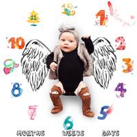 Neugeborene Fotografie Hintergrund Requisiten Babydecken Swaddle Wrap Newbron Nette Weiche Decke Kind Mode Badetücher
