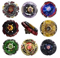 8 style Beyblade Metal Fusion 4D With Launcher Beyblade Burs...