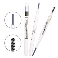 3pcs lot New Automatic Rotating Double- headed Eyebrow pencil...