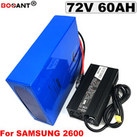 For Powerful 5000W 7000W Motor electric bike battery 72V 60A...