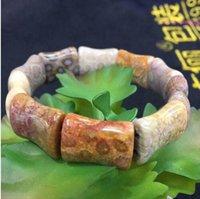 أقحوان الحجر الطبيعي حبة سوار الحجر الطبيعي سوار diy مجوهرات سوار للمرأة هدية شحن مجاني بالجملة