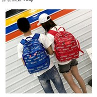 Best selling SUP brand letter backpack unisex sports leisure...