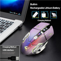 Wireless Mouse Gamer For Desktop Laptop Rechargeable X8 Wire...