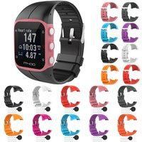 Silicone Replace Wrist Band For Polar M400 GPS Running Smart...
