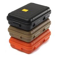 야외 여행 플라스틱 충격 방지 방수 상자 보관 케이스 인클로저 밀폐 생존 컨테이너 캠핑 충격 방지 박스