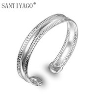Imitation Jewelry Cuff Bangles Copper Love Bracelet For Wome...