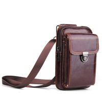 Cell Phone Holster Belt Pouch Leather Vertical Phone Wallet ...