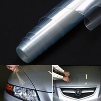 30x120 cm Şeffaf Araba tasarım Far Sticker Fren Kuyruk Işık Tonu Vinil Wrap Film Sac Kapak Sticker Koruma