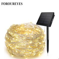 Solar LED String lamp 20m Copper Wire Fairy Holiday light St...