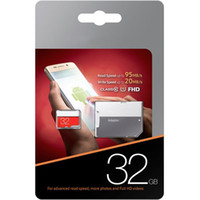 Capacidad real 32GB EVO Plus Micro Memory SD UHS-I Card Class 10 U1 TF Trans-flash Card with Adapter