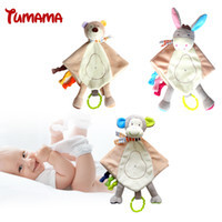 Newborn Blankie Baby Toys Infant Sooth Towel Stuffed Animal ...