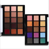 Newest 15 Colors Eyeshadow Palette Matte Glitter Palette Mak...