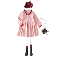 Cotton Baby Girls designer Dresses Autumn Long Sleeve Kids R...