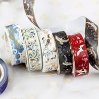 Maskierung Goldfolie Glitter Washi Tape Scrapbook Dekorative Papierkleber Aufkleber 2016