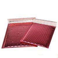 20 * 25 см красный пузырь конверты, пузырь почтовики мягкие конверты сумки, красный доставка Поли для упаковки ювелирных изделий